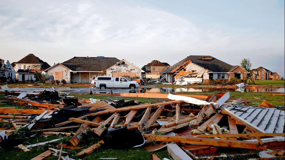 Tornadoes Leave Damage in