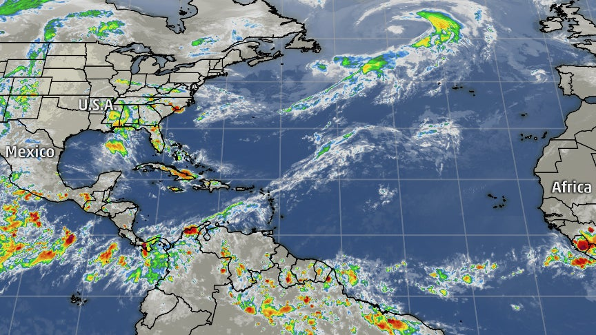 Tropical Update – Weather Channel Travel Map