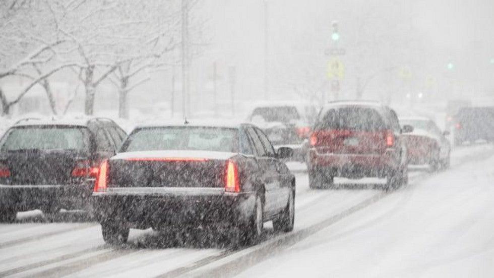 Cat Litter Snow Driving
