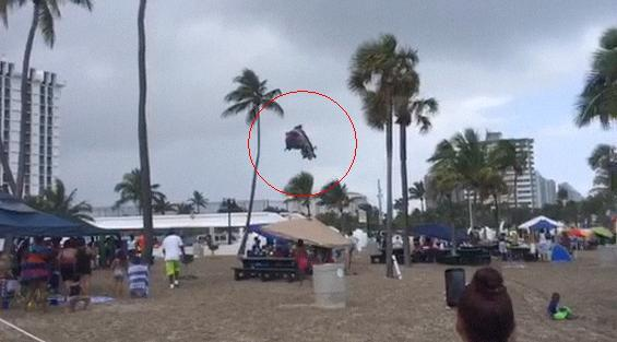 danger of bounce houses in bad weather