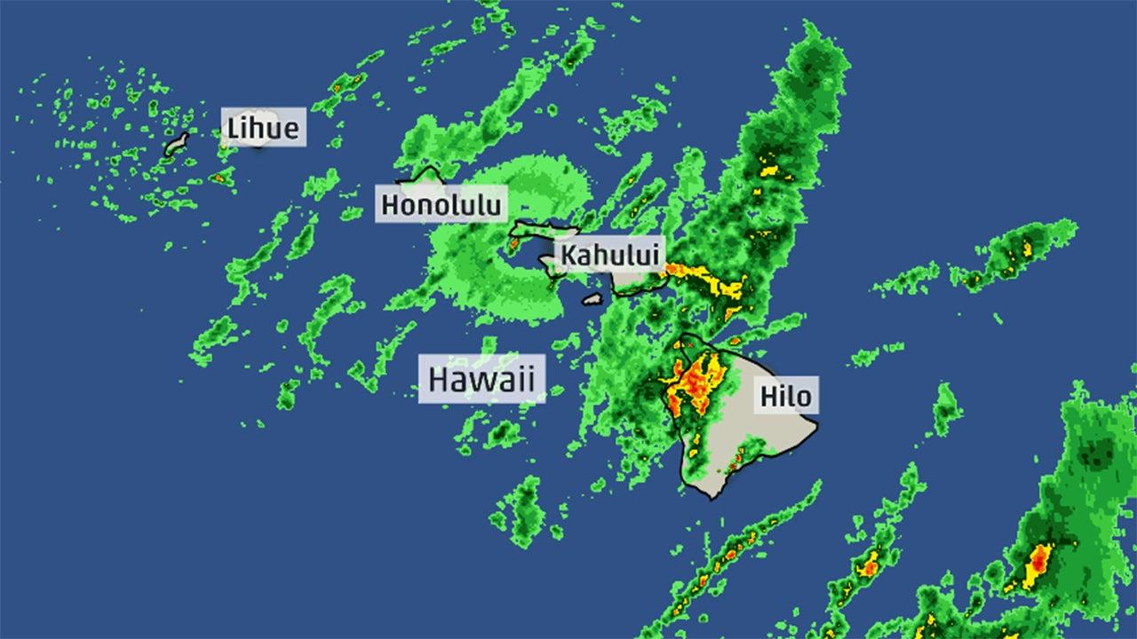 Hawaii Tiempo hoy