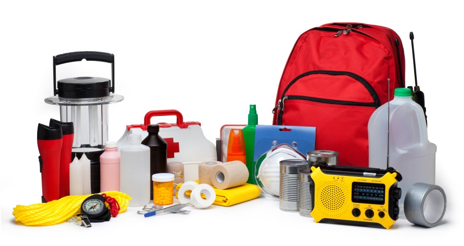 Disaster supply kit weather underground for Things you need for a house