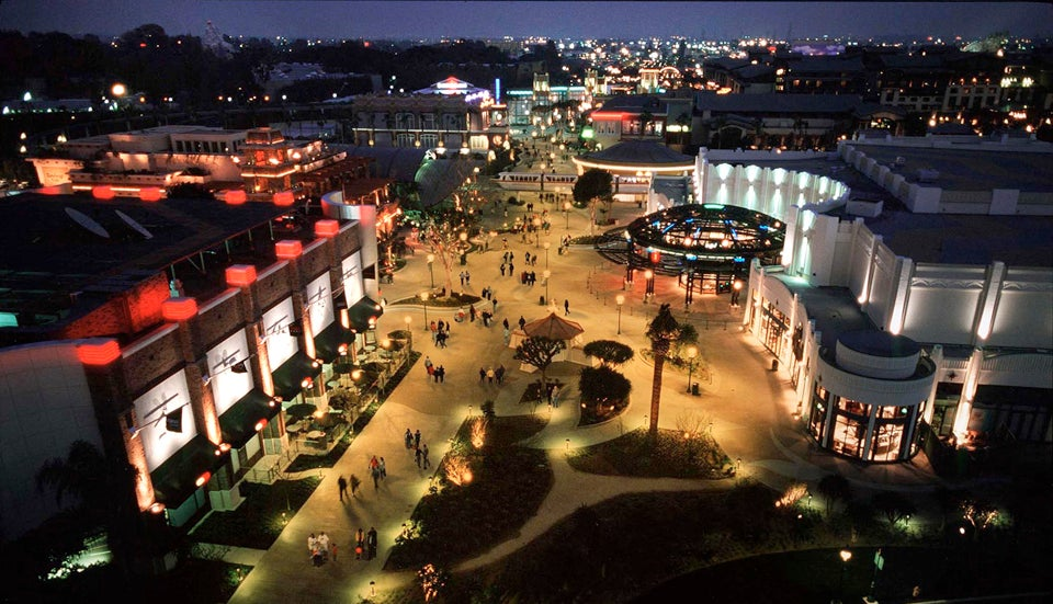 Downtown Disney District at Disneyland