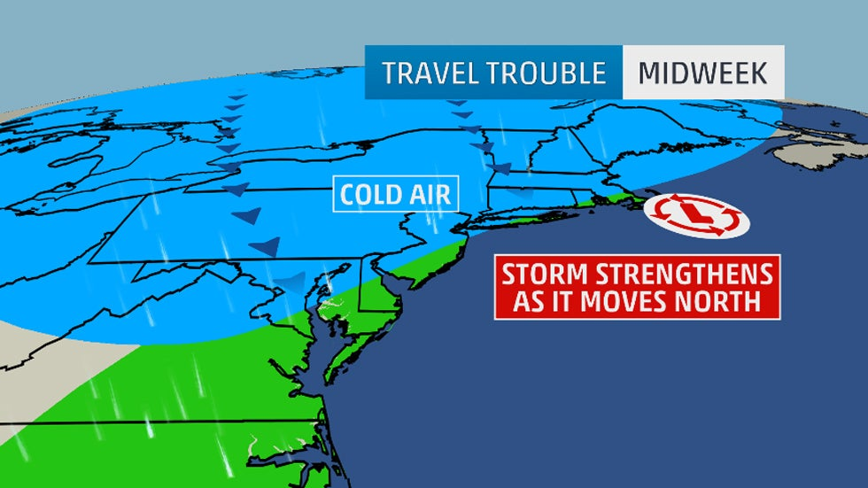 Ec storm for Winter vacation east coast