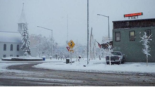 Fairbanks Alaska Sees Record September Daily Snow