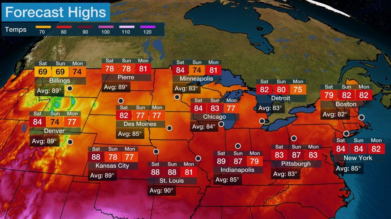 Peak Storm Surge Forecast