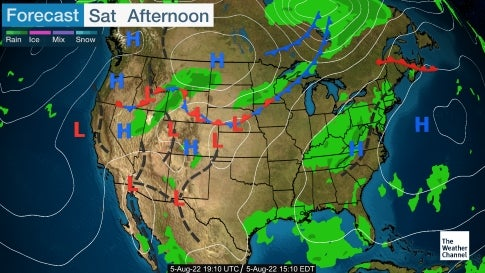 Us Weather Map Extended Forecast Images Day Forecast - Us weather map 10 day forecast