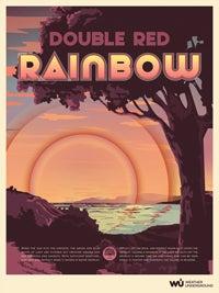 Double Red Rainbow