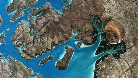 Saint George Basin, Australia (JAXA/European Space Agency)