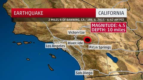 Revised focal depth for the Jan. 6, 2016, earthquake near Banning, California.