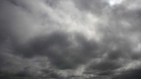 Nephophobia - fear of clouds. Individuals with this phobia might find it difficult to go outside, even during nice weather. Here, more weather- and nature-inspired phobias. (Thinkstock/Digital Vision)
