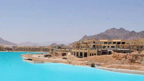 The Crystal Lagoon's pool in Sharm el-Sheikh, Egypt. (Crystal Lagoons)