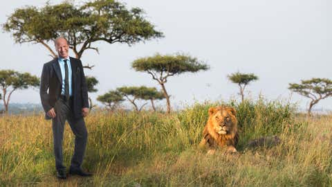 Paleo-climatologist Peter deMenocal investigates how changes in East African climate two million years ago may have influenced the evolution of early hominins and other African mammals, including lions. (Photo by Charlie Naebeck)