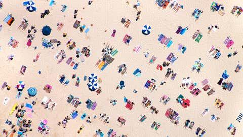 Bondi Beach, Australia. (Credit: Gray Malin)