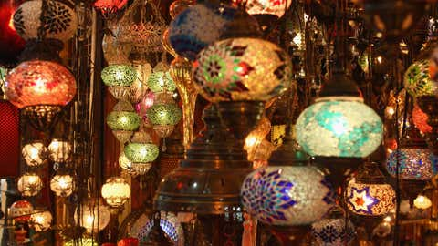 A view inside the Grand Bazaar, one of the largest and oldest covered markets in the world, on Oct. 21, 2011 in Istanbul, Turkey. (Julian Finney/Getty Images)
