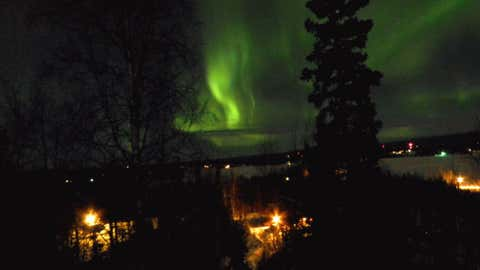 iWitness Contributor Gerard Billinger says his daughter Jennifer Shriner Billinger took this photo of the Northern Lights from Big Lake, Alaska.