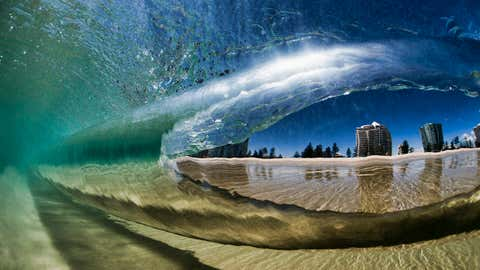 Photographer Ray Collins has shot images of waves all over the world. (Ray Collins)