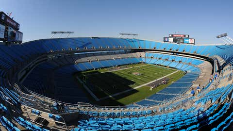 Bank of America Stadium before the Carolina Panthers play against the Minnesota Vikings October 30, 2011 in Charlotte, North Carolina.  (Al Messerschmidt/Getty Images)