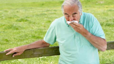 A veces, no son los alérgenos climáticos,comola ambrosía, sinolos patrones del tiempo y los cambios de temperaturaen sí los que provocan las reacciones alérgicas. Haz clic para enterarte cómo. (Thinkstock/Bananastock)