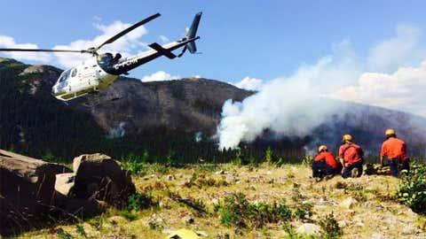 (Photo courtesy BC Wildfire Service via Twitter)