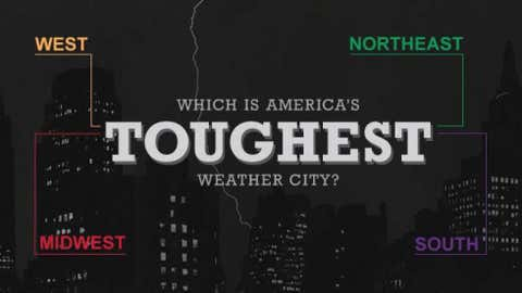 Toughest Weather Cities