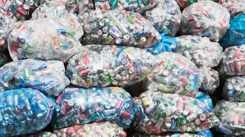 Aluminum cans have a low rate of capture in NYC, report says.