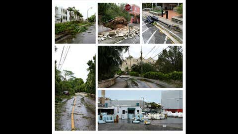 Damage from Tropical Storm Fay in Bermuda. (Photo: Instagram/terence.luk)