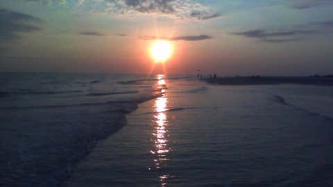 Sunset in Lido Beach, Fla. (Image: Francescocece/iWitness)