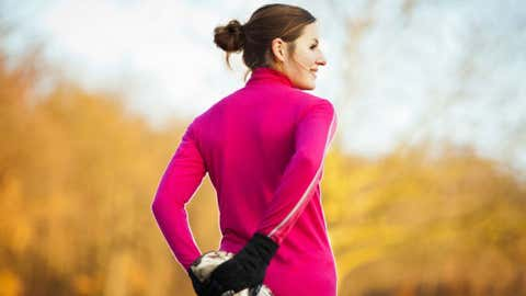 Find out how to fall in love with autumn running (Photo by iStock).