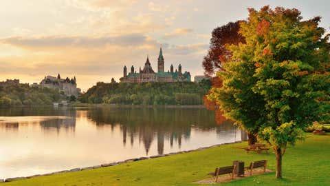 Cloudy autumn day in Ottawa (iStock)