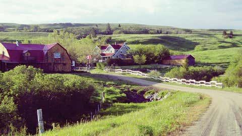 Reesor Ranch, Saskatchewan (Courtesy of Chatelaine)