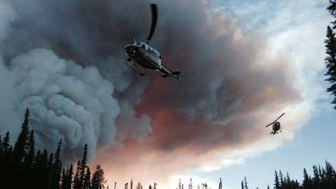 Source: BC Wildfire Service via Twitter