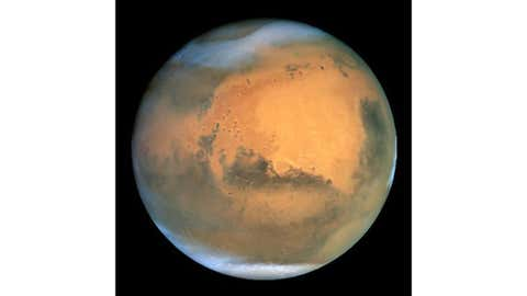 Mars has seasons like Earth does, but its orbit and atmosphere make for some differences too. (NASA/Getty Images)