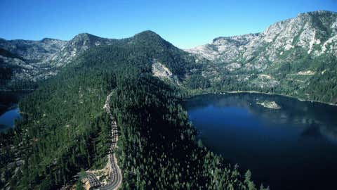 """Runners have an abundance of choice when they arrive for the three-day Lake Tahoe Marathon, from running a marathon a day to what organizers call the """"Super Triple,"""" a pair of 26.2-milers followed by a 72-mile race that's run overnight from Saturday into Sunday. (Courtesy Lake Tahoe Marathon)"""