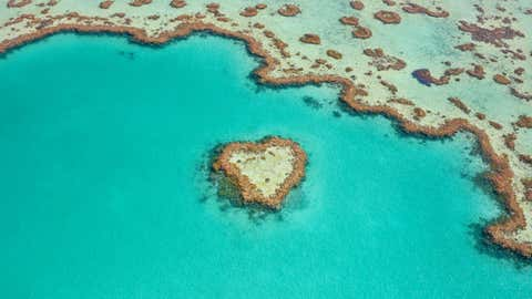 Photographer Lisa Michele Burns photographed Hardy Reef, a section of the Great Barrier Reef, from helicopter off of the Whitsunday Islands, Queensland, Australia. (Lisa Michele Burns/The Wandering Lens)