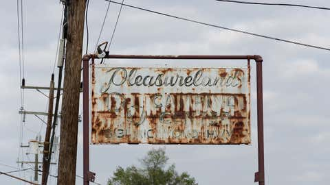 We can only imagine what happened to Pleasureville Camping Center in Virginia. (Liz Roll)