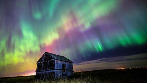Neil Zeller teaches Aurora photography in Alberta, Canada and teaches workshops in the Yukon. Weller teaches his students how to create long exposures and how to capture clear, sharp and colorful photos of the Aurora Borealis. (Neil Zeller)