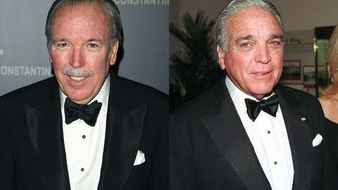 Pepe Fanjul (left), and Alfonso Fanjul (right), members of a family that owns vast sugar conglomerate Florida Crystals, exerts considerable political influence on both sides of the political aisle.