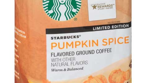 Starbucks has announced a new line of Pumpkin Spice Latte products.