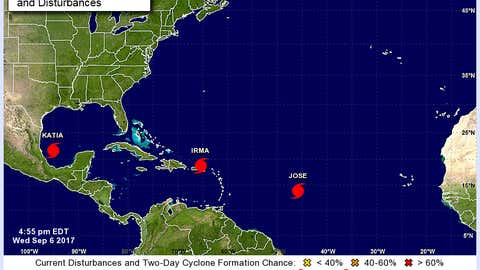 Screenshot, National Hurricane Center (http://www.nhc.noaa.gov/)