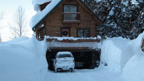 Thompson Pass holds the record in the nation's 49th state with 62 inches on December 29, 1955. Image: Buried by snow in nearby Valdez from iWitness Weather contributor Valdezsnow.
