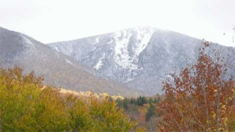 Cannon Mountain, located near I-93 in the northern part of the state, measured 41 inches of snow on December 4, 1963. Image: Cannon Mountain from iWitness Weather contributor SarahD.