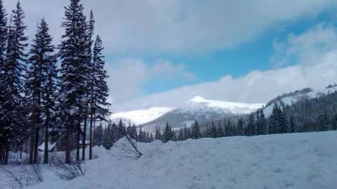 Silver Lake Brighton in the Wasatch Mountains of Utah saw 35 inches of snow on January 22, 1964. Image: Brighton Ski Resort from iWitness Weather contributor NancyandOreo.