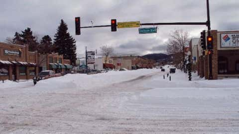 Spearfish after a heavy snowstorm in late December 2009 from iWitness Weather contributor RickBriggs.