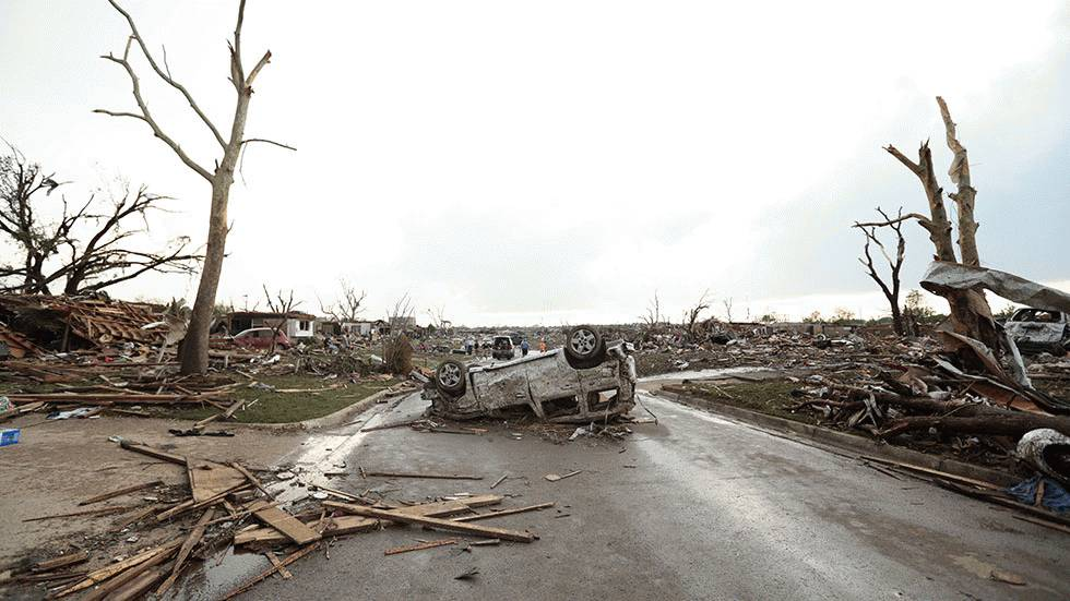 Moore and Oklahoma City's Terrible Tornado History, Particularly Since 1999