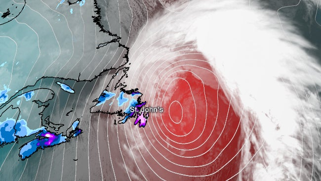 Crippling Newfoundland, Canada, Blizzard From Bomb Cyclone Smashes All-Time Daily Snow Record   The Weather Channel