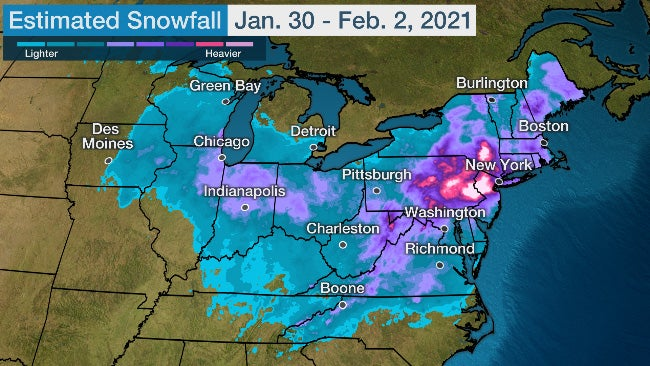 Winter Storm Orlena Hammered the Sierra, Midwest and Northeast With Heavy Snow (RECAP)   The Weather Channel - Articles from The Weather Channel   weather.com