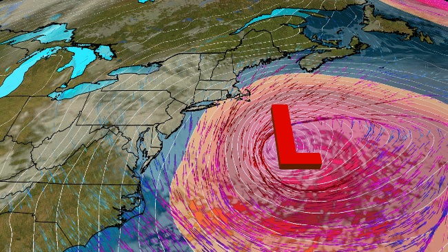 Bomb Cyclone Will Spare Much of East Coast But Scrape ...