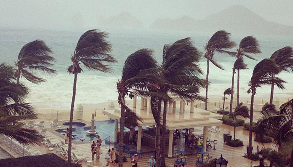hurricane odile timeline  unprecedented cyclone leaves