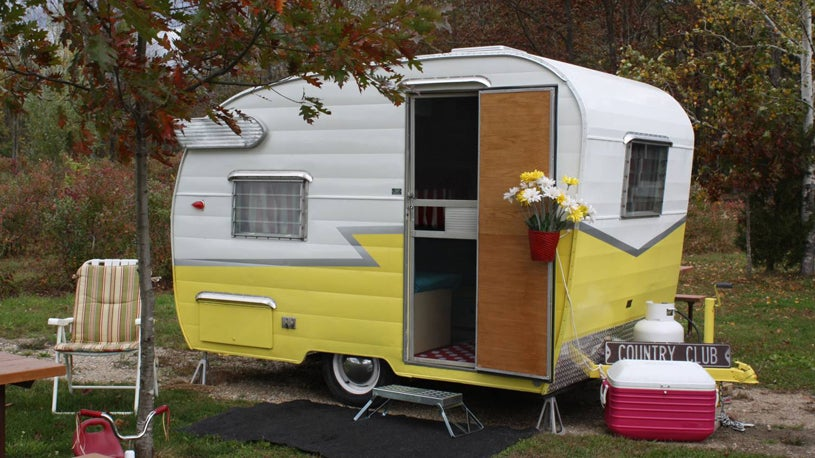 Camping in Style: Cool Vintage Trailers